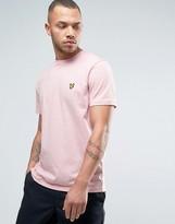 Lyle & Scott Eagle Logo T-Shirt Regular Fit in Pink Marl