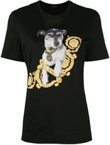 Versace printed Audrey t-shirt - women - Cotton - M