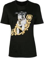 Versace printed Audrey t-shirt - women - Cotton - XXS