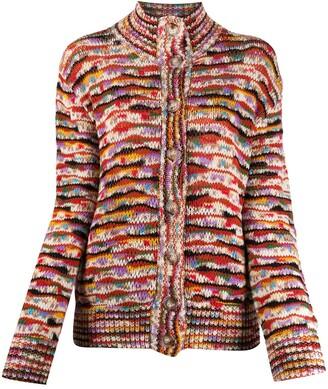 Missoni Abstract Marl Knit Cardigan