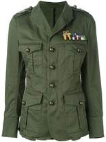 DSQUARED2 'Golden Arrow' military jacket