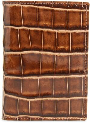 Mezlan Alligator Leather Trifold Wallet