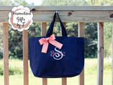 Etsy Bridesmaid Tote, Personalized Bridesmaid Gift, Tote Bags, Personalized Tote, Bridesmaids Gift, Monog