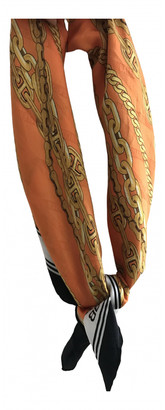 Balenciaga Orange Silk Scarves