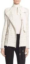 St. John Izza Knit Double Breasted Jacket