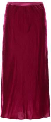 Polo Ralph Lauren Satin maxi skirt