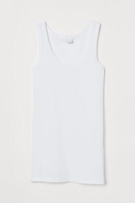 H&M Long Tank Top - White