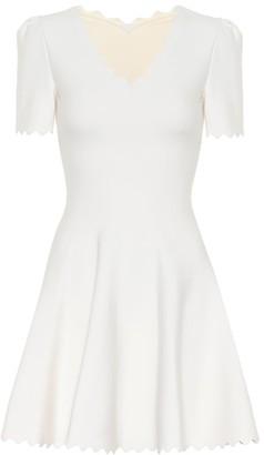 Alaia Wool jersey minidress
