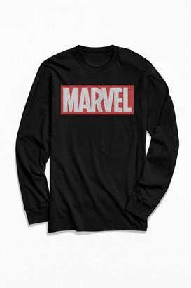 Marvel Classic Logo Long Sleeve Tee