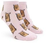 Forever 21 FOREVER 21+ Gerbil Print Ankle Socks