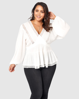 The Poetic Gypsy Astral Passenger Lace Blouse