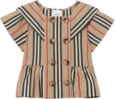 Burberry Orin Icon Stripe Sailor Shirt