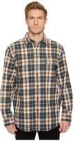 Carhartt Hubbard Plaid Shirt Men's Long Sleeve Button Up