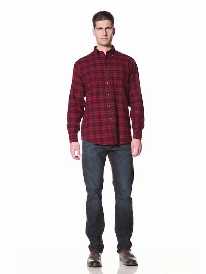G.H. Bass Men's Fireside Flannel Shirt