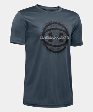 Under Armour Boys' Tee Shirts Wire - Wire Basketball Short-Sleeve Tee - Boys