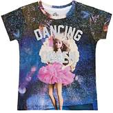 "Little Eleven Paris KIDS' ""DANCING QUEEN"" BARBIE COTTON-BLEND T-SHIRT"