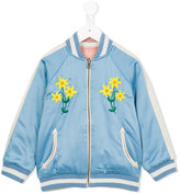 Stella McCartney reversible floral bomber jacket - kids - Cotton/Polyester - 10 yrs