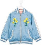 Stella McCartney reversible floral bomber jacket - kids - Cotton/Polyester - 6 yrs