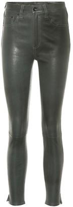 Rag & Bone Leather high-rise leggings