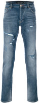 Philipp Plein distressed slim-fit jeans - men - Cotton/Polyester/Spandex/Elastane - 30