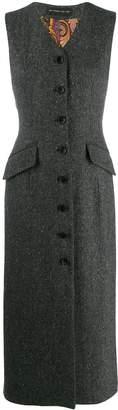 Etro button down dress