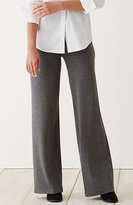 J. Jill Ponte Knit Herringbone Full-Leg Pants