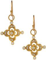 Jude Frances 18k Diamond Clover Earring Charms