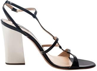 Emporio Armani Black Patent leather High Heel
