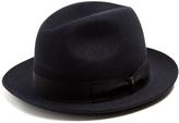 Borsalino Marengo medium-brim felt hat