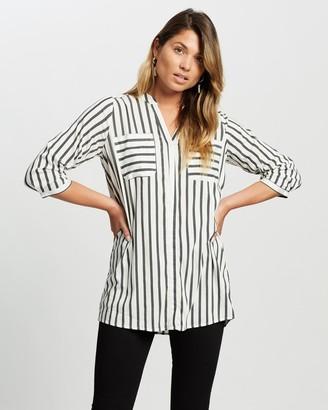 Vero Moda Erika 3/4 Tunic Shirt