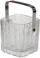 One Kings Lane Vintage 1970s Textured Glass Ice Bucket