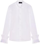Emporio Armani Ruffle Sleeve Shirt