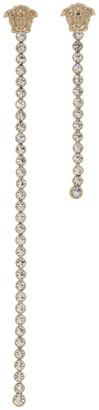 Versace Gold Medusa Chain Drop Earrings