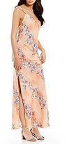 Free People Cassie Girl Printed Floral Maxi Dress