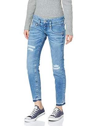 Herrlicher Women's Pitch Slim Cropped Kaschmir Denim Jeans,14 (Size: )