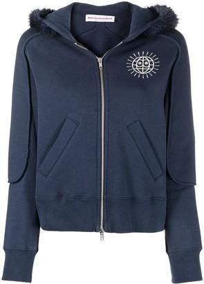 Walter Van Beirendonck Pre-Owned Worldwide zip-up hoodie