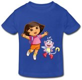 Stabe 2-6 Toddler Tee Age 2-6 Kids Toddler Dora The Explorer Little Boys And Girls T-Shirt 2 Toddler