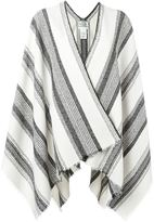 Forte Forte striped poncho