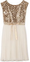 Speechless Sequin to Tulle Dress, Girls (7-16)