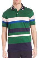 Paul Smith Striped Cotton Polo