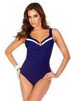 Miraclesuit Women's New Sensations One Piece Surplice Swimsuit