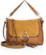 See by Chloe Joan Small Leather & Suede Shoulder Bag