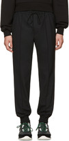 Juun.J Black Drawstring Trousers