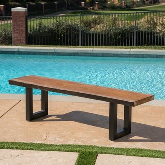 Foundry Select Croghan Outdoor Garden Bench Foundry Select