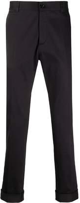 Versace Turn-Up Hem Chino Trousers