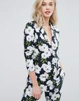 Oasis Floral Print Blazer