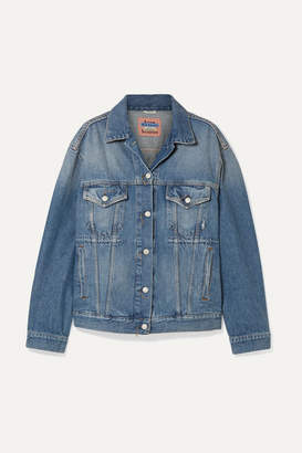 Acne Studios 2000 Oversized Denim Jacket - Mid denim