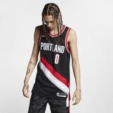 Nike NBA Authentic Jersey Damian Lillard Trail Blazers Icon Edition