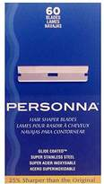 Personna Hair Shaper Blades, 60 Count