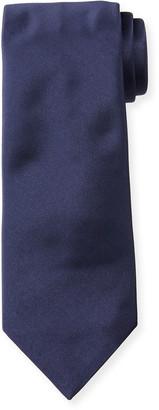 Emporio Armani Solid Silk Tie